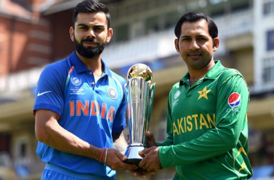 India vs Pakistan World Cup Match on Sun June 16