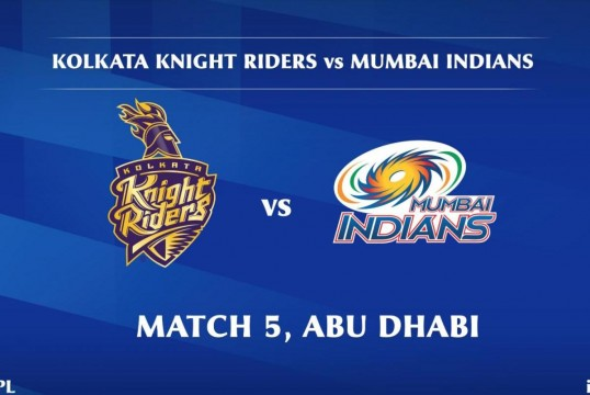 IPL Day 5 Mumbai Indians  Beats Kolkata Knight Riders