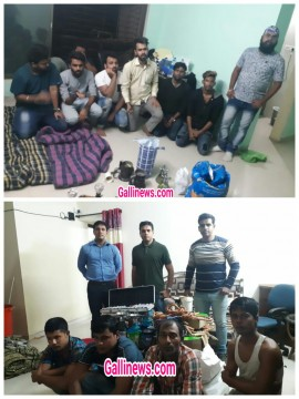 Illegal Hukka Parlour in Posh Flat Raided in Kashmira Thane Rural