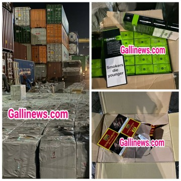 Imported Cigarettes worth around Rs 12 Crore Seized in Khajur Dates Container by DRI Mumbai Zonal Unit
