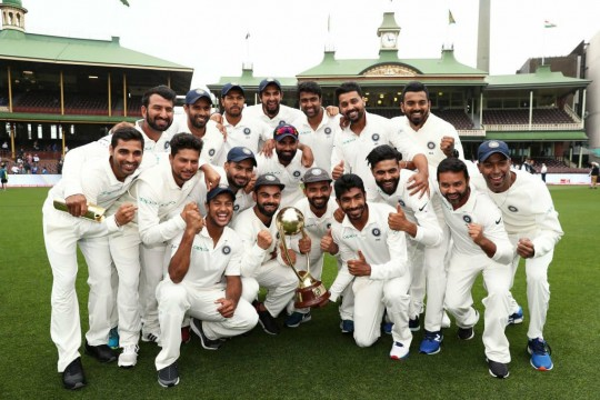 India Makes History India 1st Asian Team to Win Test Series in Australia