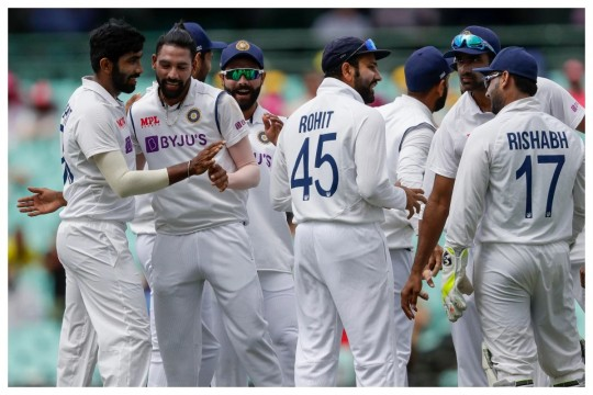 India Vs Australia 3rd Test Draw In Sydney Ground