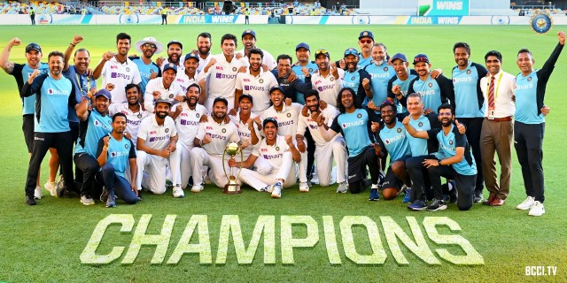 India Win by 3 Wickets 4th Test Against Australia In Brisbane