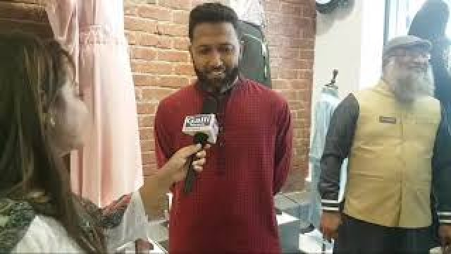 Indian Cricketer Wasim Jaffer at Inauguration of Mashroo Thobes in Byculla West