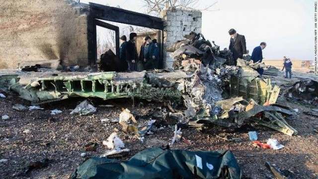 Iran Confess of Shooting Down Boeing 737 Ukranian planes unintentionally in which 176 Died