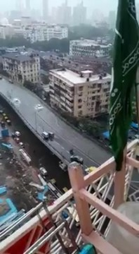JJ Flyover par Bhara Paani due to Heavy Rain in Mumbai