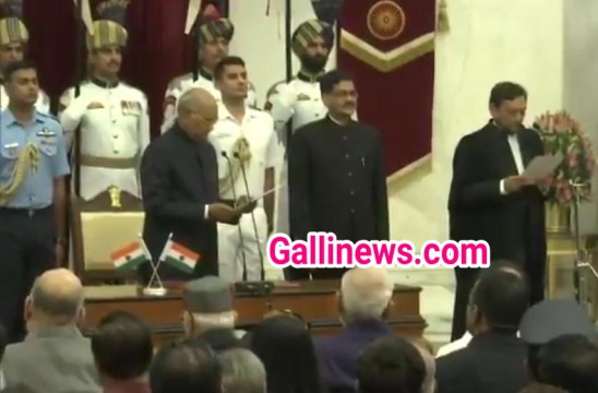 Justice Sharad Arvind Bobde takes oath as the 47th Chief Justice of India Today