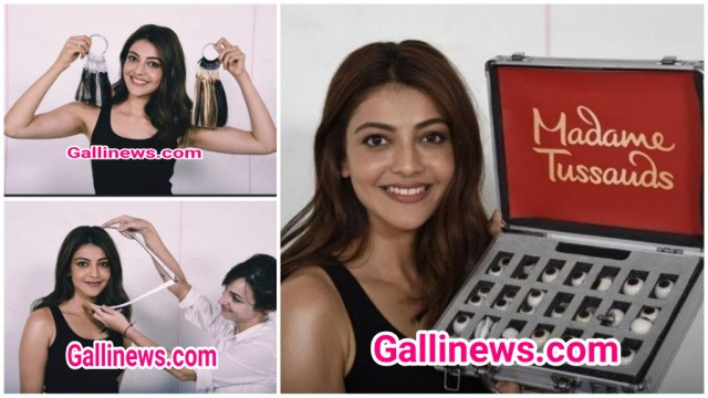 Kajal Agarwal First South Indian Actress to get Madame Tussauds wax Figure