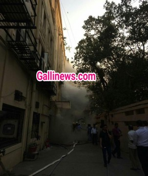 Level 2 Fire in Sadhna House at Worli
