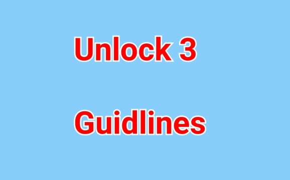 Lockdown  Extended till 31st August in Containment Zone Unlock 3 Guidelines Night Curfew have been removed