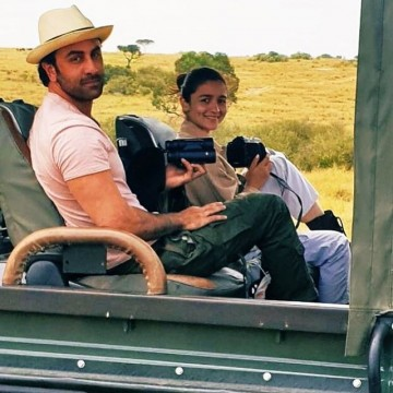 Lovebirds Ranbir Kapoor and Alia Bhatt enjoy a wildlife safari in Kenya Dont they look adorable together