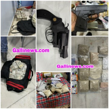 MD Factory in Dongri NCB Ne kiya Parda Fash 12 81 Kg Drugs 2 18 Crore Cash Gun Chinku Pathan Arrested Arif Bhujwala Wanted