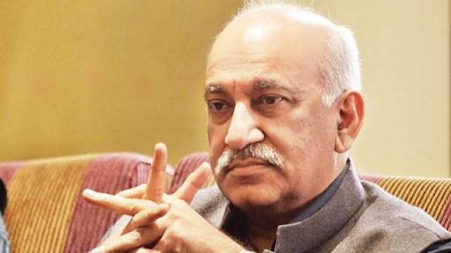 BJP Union Minister MJ Akbar Ne Diya Resign Kuch Lady Reporters Ke Sexual Harassment Ka Aarop Tha