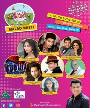 Malad Masti Event 2019 Sports Yoga Dance Music Celebrities Everything in 1 Place at Malad Inorbit Mall Back Road