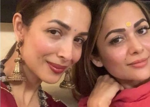 Malaika Arora shares a heartfelt post for her baby sister Amrita Arora on Raksha Bandhan