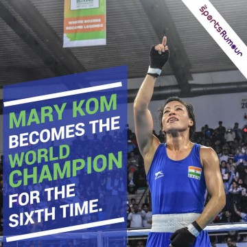 Marry kom ne jeeta 6th time Gold Medal World Boxing Championship