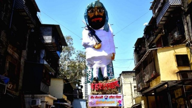 Masood Azhar Aur PUBG Game ke Effigy ka holika Dahan hoga at Worli Mumbai