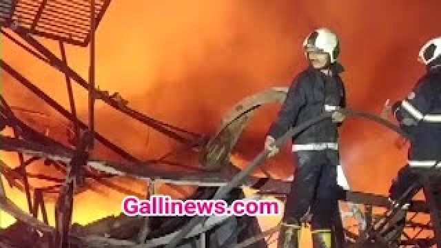 Massive Fire in Godown at Jogeshwari No injuries reported