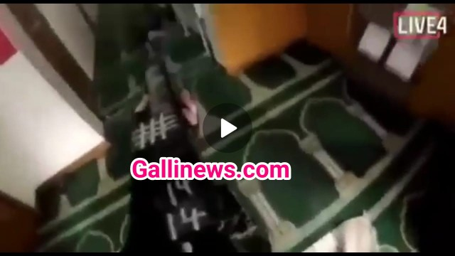Mosque mai Shooting karte hue 17 min ka Live Video banaya  Gunmen ne Christchurch Newzeland