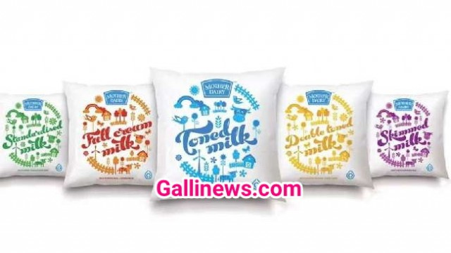 Mother Dairy Milk ka Price Rs. 3 per liter increase hoga Mumbai main Sunday 26 May se