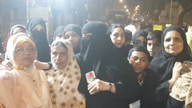Mumbai Baugh Angry Women On Delhi Violance