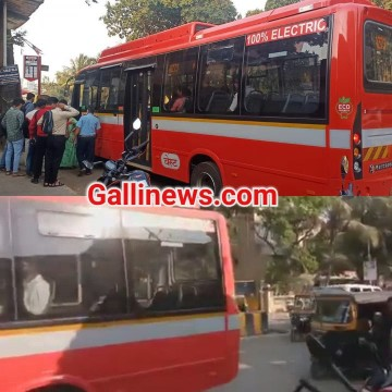 New BEST Electric AC Bus shuru hui for Malwanikar at Malad