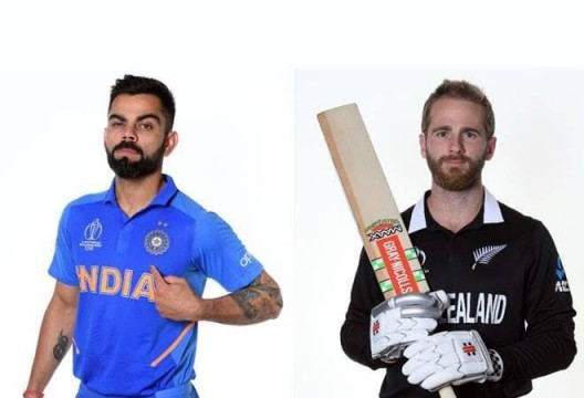 New Zealand Won Semi final cricket match against India