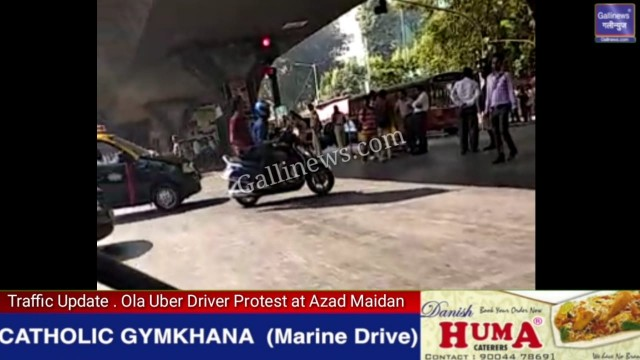 OLA Uber drivers apni demands puri na hone per Azad Maidan me karenge Protest