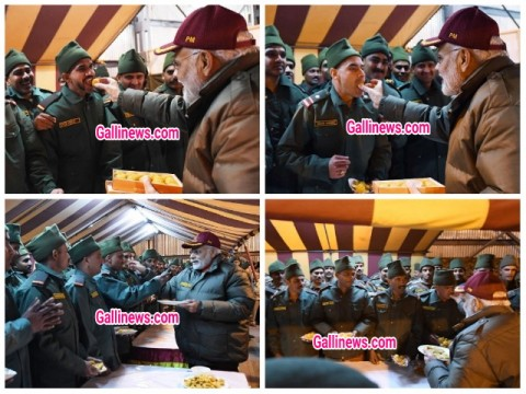 PM Modi Celebrate Diwali with Army Jawans at Uttarakhand Harsil