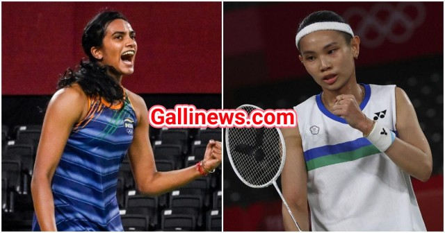 PV Sindhu loses to Tai Tzu ying of Chinese Taipei 18-21, 12-21 in womens singles semifinal to play for bronze tomorrow