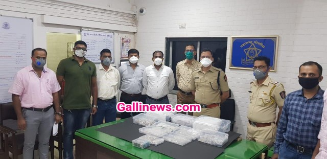 Police Constable Arrested 7 Crore Jewellery Choro ko Madat karne ka aarop