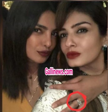 Engagement Ring ke Saath dikhi Bollywood Actress Priyanka Chopra