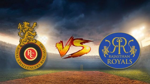 Royal Challengers Bangalore vs Rajasthan Royals both teams get 1 point