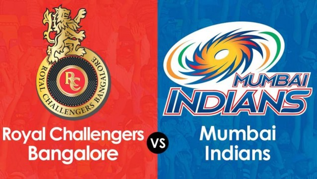 Mumbai won the match by 5 runs against RCB