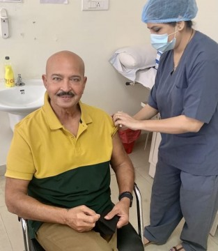 Rakesh Roshan Receives his Second Dose Of Covid19 Vaccine