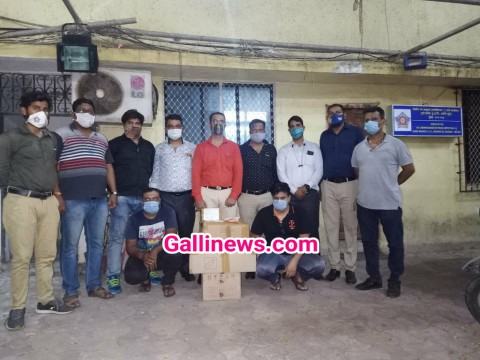 Remdesivir injection ki black marketing karne walon par Crime Branch ki Raid at Andheri Jogeshwari