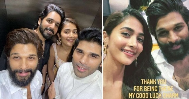 Reunite To Mark One Year Of Alluarjun Along with Pooja Hegde