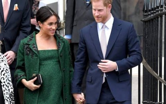 Royal Couple Prince Harry and Meghan Markle Blessed with Baby Boy