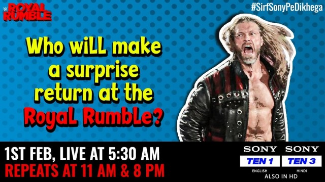 Royal Rumble Live at 05 30 Am on Sony Who Will Make a Surprise return at the Royal Rumble