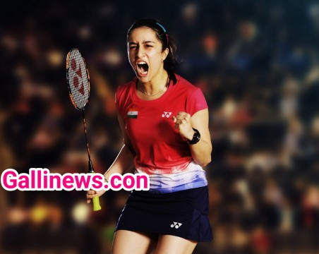 Shraddha Kapoor First look in Saina Newal Biopic
