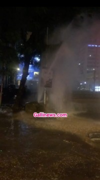 Major Pipeline Burst at Andheri West