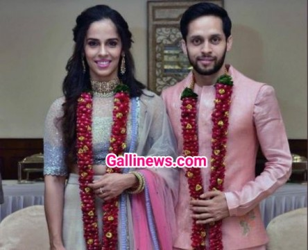 Saina Nehwal Weds Parupalli Kashyap at Hyderabad