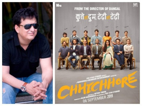 Sajid Nadiadwala is quite proud of his latest release Chhichhore