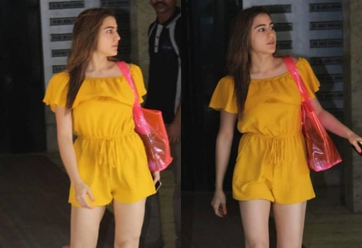 Sara Ali Khan keeps it chic as she walks out looking as gorgeous as ever