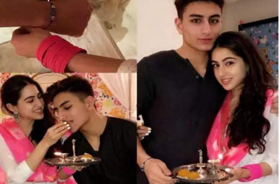 Sara Ali Khan shares a hilarious throwback video as she wishes Ibrahim Ali Khan on the occasion of Raksha Bandhan