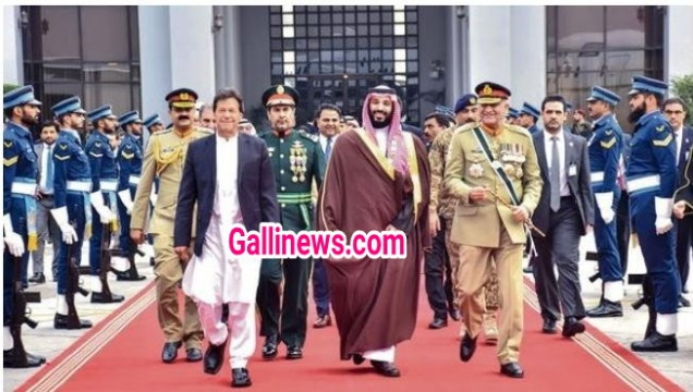 Saudi Crown Prince visits Pakistan amidst Pulwama attack