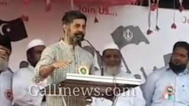 Savdhaan India Actor Sushant Singh Speech on CAA NRC at Govandi