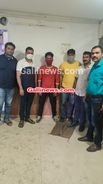 Sex Racket busted 2 Minor Girl Rescued 1 arrested by Crime Branch 12 at Borivali East