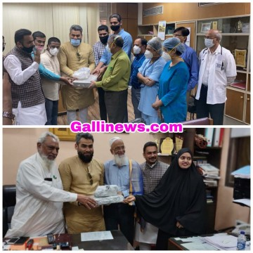Shehzad Abrahni Donated 2 Ventilatorin Nair and Saboo Siddique Hospital on Father Adv Yusuf Abrahani Birthday