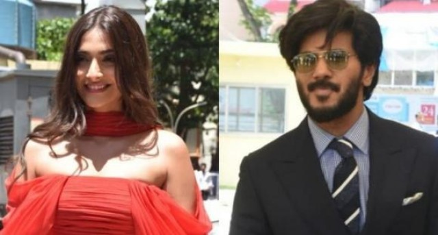 Sonam Kapoor on working with Dulquer Salmaan He is so good looking and romancing him was a delight